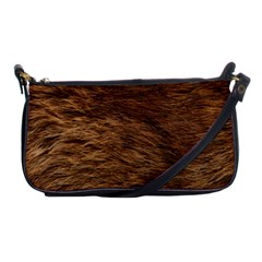 Bear Fur Shoulder Clutch Bags