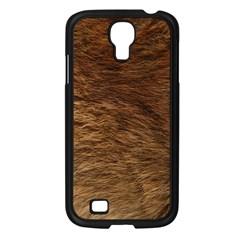 BEAR FUR Samsung Galaxy S4 I9500/ I9505 Case (Black)