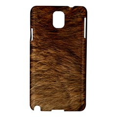 BEAR FUR Samsung Galaxy Note 3 N9005 Hardshell Case