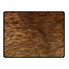 BEAR FUR Double Sided Fleece Blanket (Small)