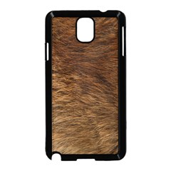 BEAR FUR Samsung Galaxy Note 3 Neo Hardshell Case (Black)