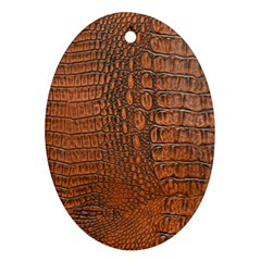 ALLIGATOR SKIN Ornament (Oval)