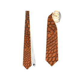 Alligator Skin Neckties (one Side)