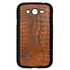 Alligator Skin Samsung Galaxy Grand Duos I9082 Case (black)