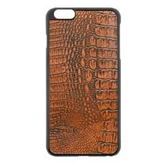 ALLIGATOR SKIN Apple iPhone 6 Plus/6S Plus Black Enamel Case