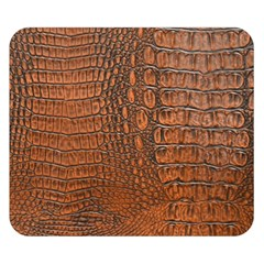 ALLIGATOR SKIN Double Sided Flano Blanket (Small)