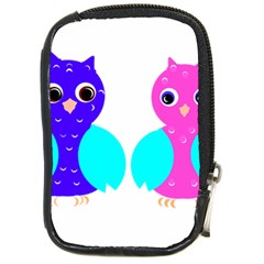 Owl couple  Compact Camera Cases