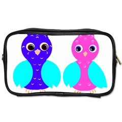 Owl couple  Toiletries Bags 2-Side