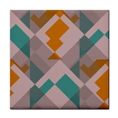 Pieces Tile Coaster