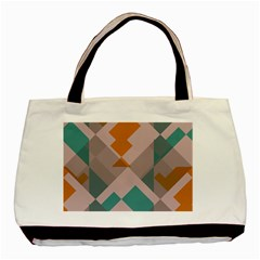 Pieces Basic Tote Bag (Two Sides)