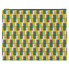 Connected rectangles pattern Cosmetic Bag (XXXL)