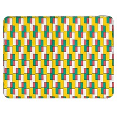 Connected rectangles pattern Samsung Galaxy Tab 7  P1000 Flip Case