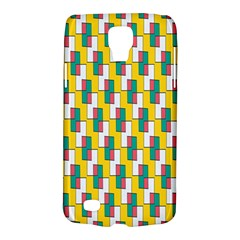 Connected rectangles pattern Samsung Galaxy S4 Active (I9295) Hardshell Case