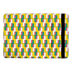 Connected rectangles pattern	Samsung Galaxy Tab Pro 10.1  Flip Case