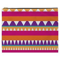 Stripes and peaks Cosmetic Bag (XXXL)