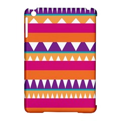 Stripes and peaks Apple iPad Mini Hardshell Case (Compatible with Smart Cover)