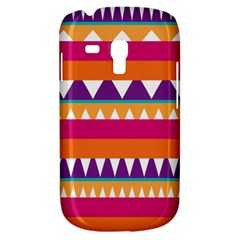 Stripes and peaks Samsung Galaxy S3 MINI I8190 Hardshell Case