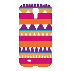Stripes and peaks Samsung Galaxy S4 I9500/I9505 Hardshell Case