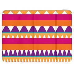 Stripes and peaks Samsung Galaxy Tab 7  P1000 Flip Case