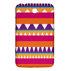 Stripes and peaks Samsung Galaxy Tab 3 (7 ) P3200 Hardshell Case