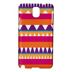 Stripes and peaks Samsung Galaxy Note 3 N9005 Hardshell Case