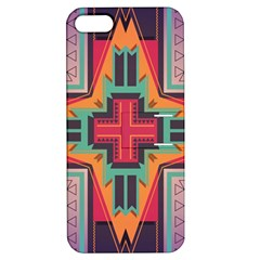 Tribal star Apple iPhone 5 Hardshell Case with Stand