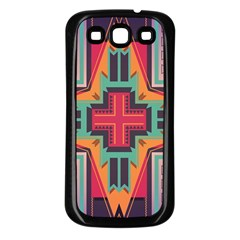 Tribal star Samsung Galaxy S3 Back Case (Black)