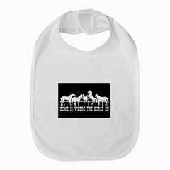 Home Is Where The Horse Is Bib