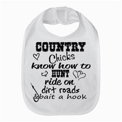 Country Chicks Bib