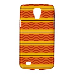 Red waves Samsung Galaxy S4 Active (I9295) Hardshell Case