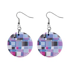 Patches 1  Button Earrings