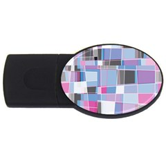 Patches USB Flash Drive Oval (2 GB)