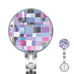 Patches  Stainless Steel Nurses Watch