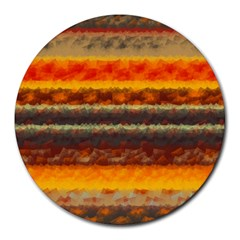 Fading shapes texture Round Mousepad