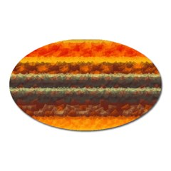 Fading shapes texture Magnet (Oval)