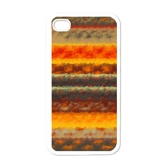 Fading shapes texture Apple iPhone 4 Case (White)