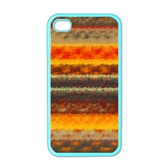 Fading shapes texture Apple iPhone 4 Case (Color)