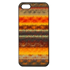 Fading shapes texture Apple iPhone 5 Seamless Case (Black)