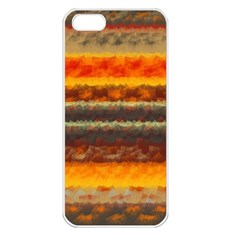 Fading shapes texture Apple iPhone 5 Seamless Case (White)