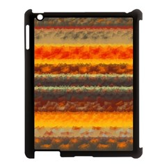Fading shapes texture Apple iPad 3/4 Case (Black)
