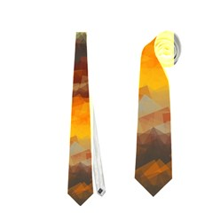 Fading shapes texture Necktie