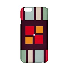 Squares and stripes  Apple iPhone 6 Hardshell Case