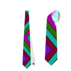 Diamond Pattern  Neckties (two Side)