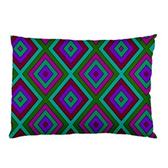 Diamond Pattern  Pillow Cases (Two Sides)