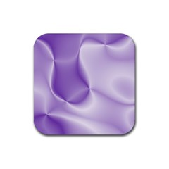 Colors In Motion, Lilac Rubber Square Coaster (4 pack)