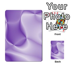 Colors In Motion, Lilac Multi Purpose Cards (rectangle)