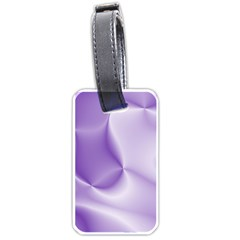 Colors In Motion, Lilac Luggage Tags (Two Sides)