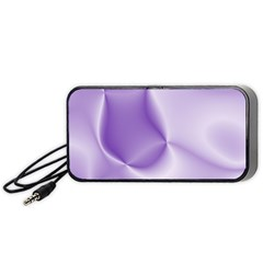 Colors In Motion, Lilac Portable Speaker (Black)