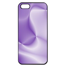 Colors In Motion, Lilac Apple iPhone 5 Seamless Case (Black)