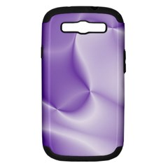 Colors In Motion, Lilac Samsung Galaxy S III Hardshell Case (PC+Silicone)